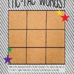 Tic-Tac-Words TNB