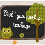 Owl you need is reading