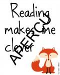 Aperçu Reading makes me clever