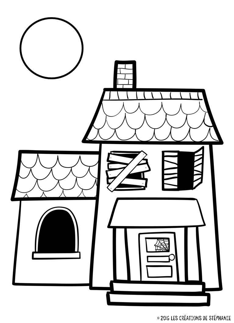la maison hant e les cr ations de st phanie. Black Bedroom Furniture Sets. Home Design Ideas