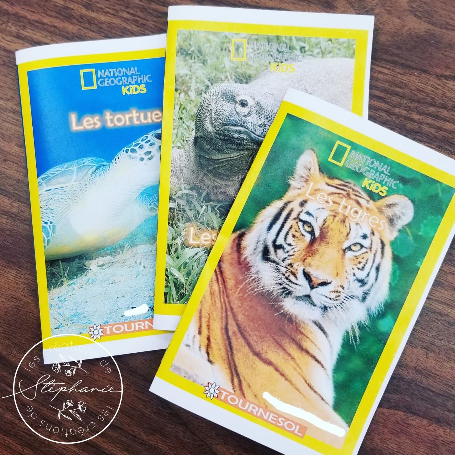 Écrire des livres inspirés de la collection Premières lectures de National Geographic Kids