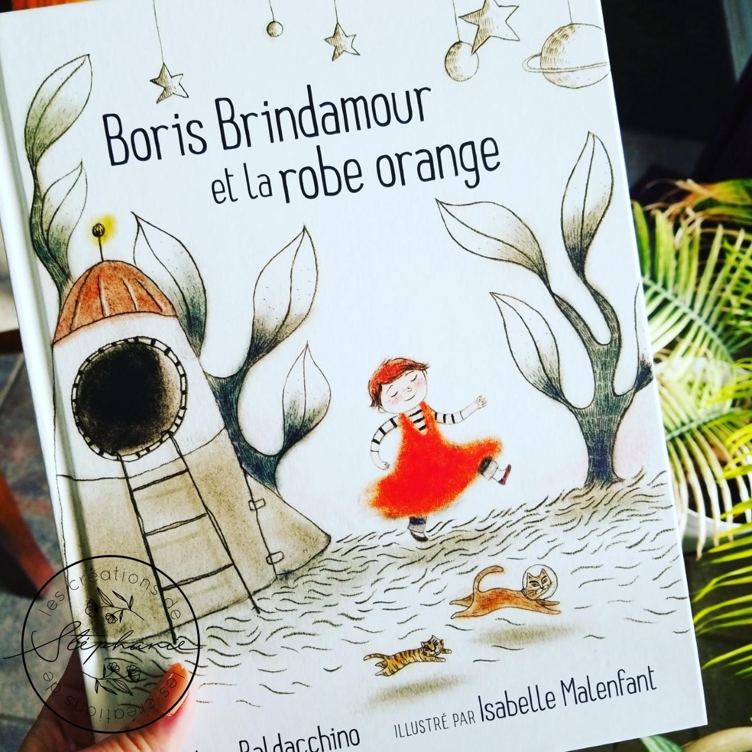 Boris Brindamour et la robe orange